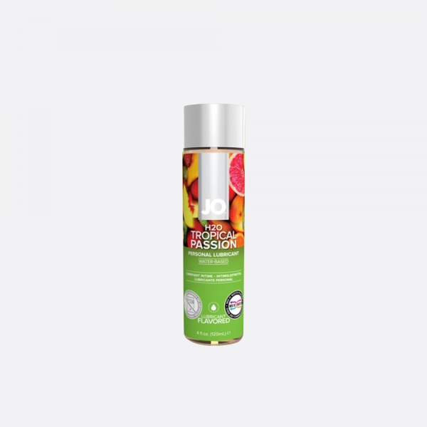 JO(제이오) H2O 플레이버즈 트로피칼 120ml (달콤한 과일맛, 오랄+러브젤)
