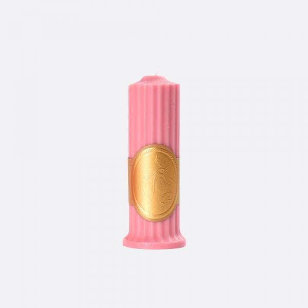 저온 왁스 캔들-핑크